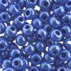 Czech Seedbeads 32/0 Opaque Light Royal Blue/sfinx